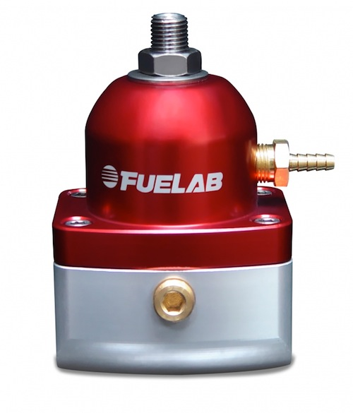 FueLab -10, -6 Adjustable Regulator Black