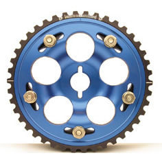 Mitsubishi 03+ Evolution VIII Fidanza Cam Gear Blue
