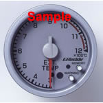 AIR/FUEL GAUGE 60mm Silver, Peak and Hold